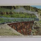 Vintage Postcard California Limited Crossong Johnson's Canyon Arizona