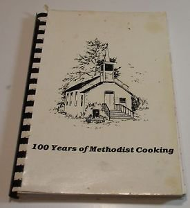 Trout Run United Methodist Church Black River Falls Wisconsin Cookbook 1982