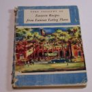 1950 VINTAGE FORD TREASURY OF FAVORITE RECIPES FROM FAMOUS EATING PLACES