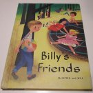 Textbook Billy's Friends McIntire and Hill Reader Reading Book 1957 School