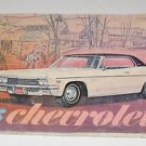 1966 Chevrolet Owner's Guide Manual