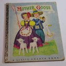 Mother Goose A Little Golden Book 1942 Vintage Antique Book - Hardcover