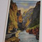 Vintage Postcard Royal Gorgre Canyon Denver Rio Grande Railroad