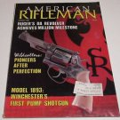 American Rifleman Ruger Double Action ~1893 Winchester Pump~Civil War Replica's