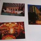 (3) Postcards Hotel Miramar Hong Kong Postcard