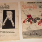 (2) Gandy Model 901 Chemical Applicator Manual and attachment Manual