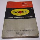 D56 Engineering Catalog Vintage 1956 Power Transmission Machinery