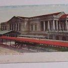Vintage Postcard Burlington Depot Omaha Nebraska