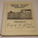 Cemetery Records Seward County Nebraska Genealogical Society 1997