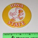 "Vintage Iowa State University Sports Mascot ""CY"" Metal Pin Button"