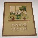 Vintage International Harvester Victor Drills Brochure