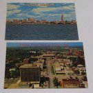 (2) Postcards Lincoln Nebraska Downtown View