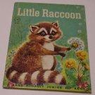 VINTAGE 1961 LITTLE RACCOON RAND MCNALLY JUNIOR ELF CHILDREN BOOK