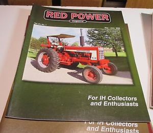 RED POWER IH & Farmall Enthusiasts Collectors Magazine may june 2006