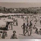 Vintage Caletilla Acapulco Mexico Postcard Beach Scene
