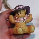 "Debra Chapeau Noelle Lucy Rigg 134759  Ceramic Figurine Bear ""AMY"" Signed"