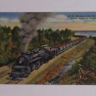 Vintage Postcard Steam Locomotive Hauling Iron Ore to Duluth-Superior Docks