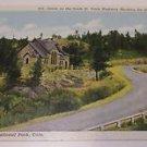 Vintage Postcard Vrain Highway St Malo Chapel Rocky Mountain Park Colorado