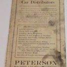Peterson Machine & Welding Works Fremont Nebraska Brochure Price Guide 1923