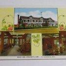 Vintage Postcard ROSE INN Crossett Arkansas