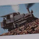 Vintage Postcard Cog Road Engine Climbing Pikes Peak Colorado