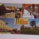 Vintage Postcard LK Family Restaurant Motel Clio Michigan