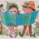 "Vintage Postcard Mr B Heart Warmers  ""Show me the way to go home"" 1972"