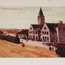 "Vintage Postcard ""Union Depot"" Cheyenne Wyoming"