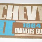 "1964 Chevy II ""2"" Chevrolet Owners Guide Auto"