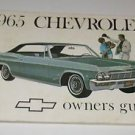 1965 Chevrolet Owners Guide Auto