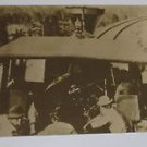 "Vintage Postcard No 35 Close Up of Interior Cab Locomotive ""North Fork Of Yuba"""