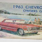 1963 Chevrolet Owners Guide Auto