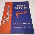 Raybestos Brake Service Guide 1955