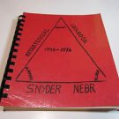 Bicentennial Cookbook Snyder Nebraska 1976