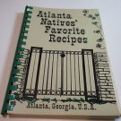 Atlanta Natives Favorite Recipes Frances Arrington Elyea 1975