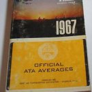 Trap & Field Trapshooters ATA Averages Book PB 1967