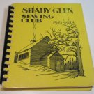 Shady Glen Sewing Club Wisconsin Cookbook 1921-1978