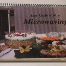 Microwaving Cookbook Eastern Star Merrillan WI 1987