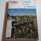 Trap & Field Trapshooters ATA Averages Book PB 1970