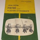 Johne Deere PA700 Planting Attachments
