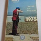 TRAP & FIELD Official ATA Averages Book 1975