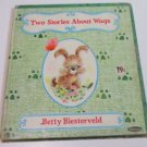 TWO STORIES ABOUT WAGS  Whitman Tell A Tale Betty Biesterveld 1966