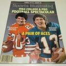 1984 Dan Marino and Bernie Kosar Football Special Issue Sports Illustrated