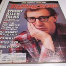 Rolling Stone Magazine Issue # 497 1987 Andy Warhol Woody Allen Krishna Killers