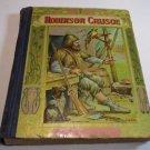 Robinson Crusoe by Daniel Defoe 200 Ilustrations Antique Classic Book