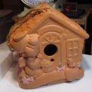 169285 Gardening Birdhouse Precious Moments