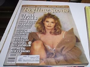 Rolling Stone Magazine Issue # 484 1986 Cybill Shepherd Jeff Goldblum