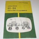 John Deere 82 - 84 Fertilizer Attachments Manual OM-A13034-A
