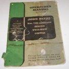 John Deere Manual Nos 730 & 730H Series Two Row Lister No OM-A30_850
