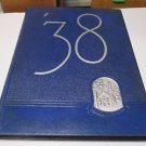"DRURY COLLEGE ""Sou'wester"" Yearbook Annual 1938 Springfield Missouri"